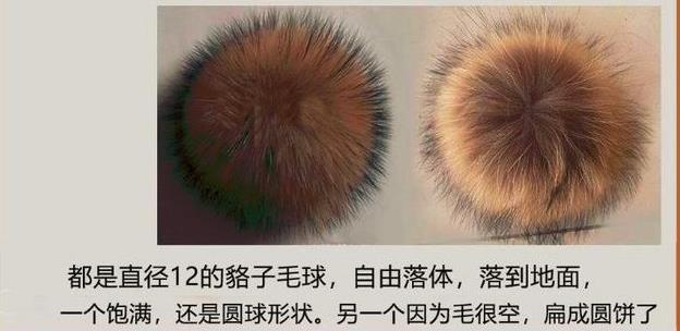 采购部进的狐狸毛球挂件,有的密密实实有的稀稀拉拉,为什么?-768